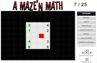 A Maze'n Math