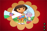 Dora The Explorer - Round Puzzle