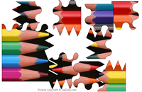 Pencil Points Puzzle